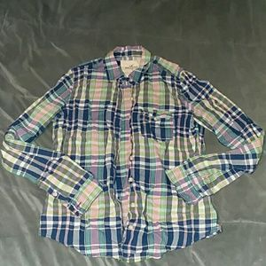 Hollister Tops - 5 for $25 Hollister women's M plaid buttondown top